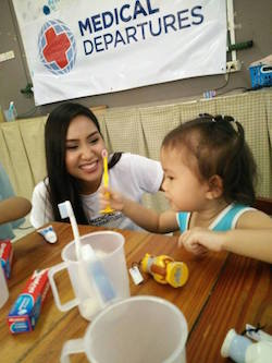 Dental Departures Team with Child Care in Thailand
