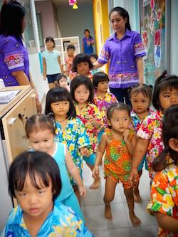 Dental Departures Team helping Foundation Slum Child Care