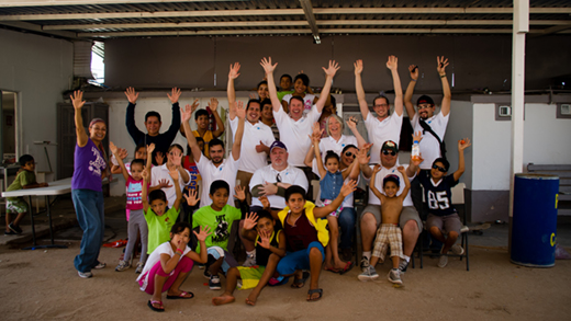 Dental Departures Team and Casa Betesda Children