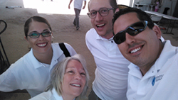 Dental Departures Team in Casa Betesda selfie