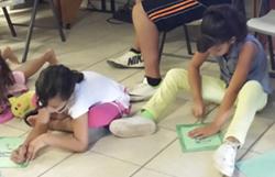 Casa Betesda children drawing