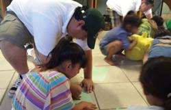 Casa Betesda children being helped