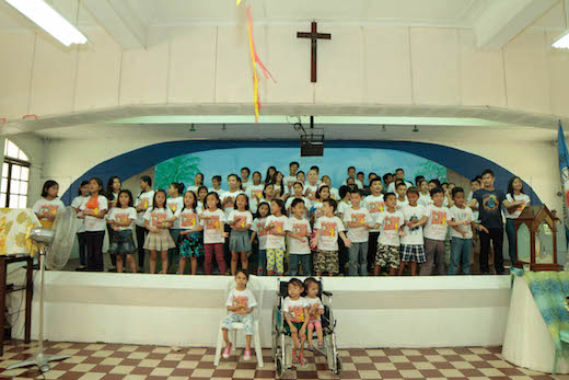 Dental Departures Team in Asilo de San Vicente de Paul Orphanage