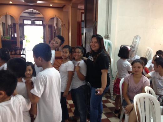 Dental Departures Team donate gifts