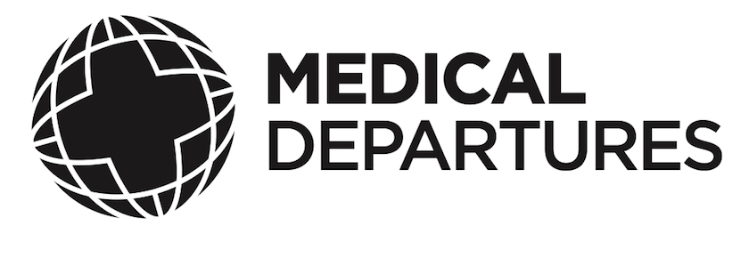 Dental Departures Logo - Black and White