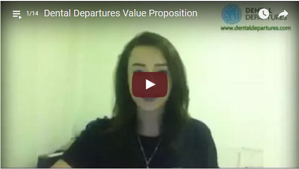 Dental Departures video testimonial